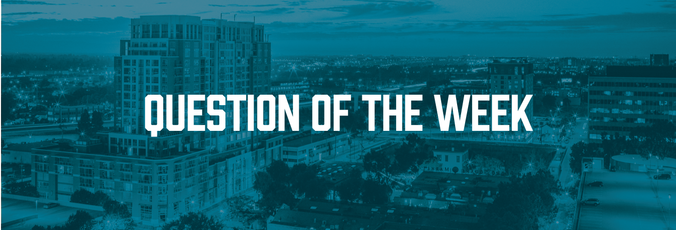 Question of the Week Header Image with Text